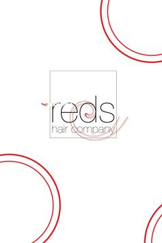 Reds Hair Company poster