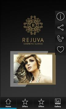 Rejuva Cosmetic Clinic App screenshot 1