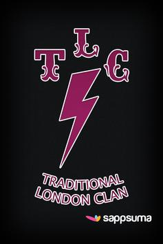 Traditional London Clan Tattoo poster