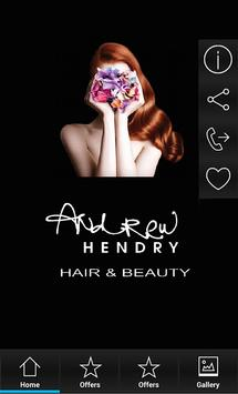 Andrew Hendry Hair and Beauty apk screenshot