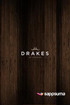 Drakes Of London poster