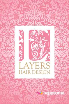 Layers Hair Design poster