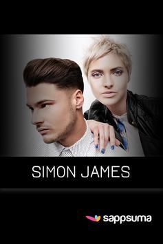 Simon James poster