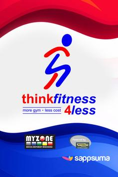Think Fitness 4 Less poster