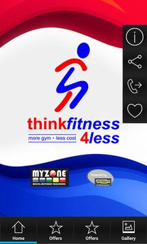 Think Fitness 4 Less apk screenshot