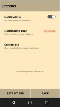 Daily Power Qoute screenshot 2