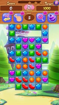Jelly Gummy Pop - Match 3 Puzzle apk screenshot