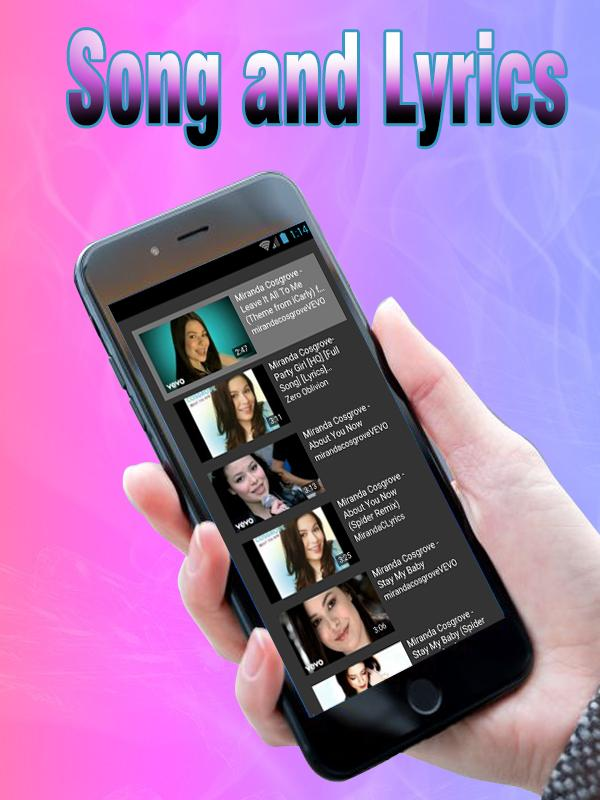 iCarly theme song - Leave It All To Me Soundtrack for Android - APK