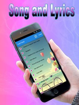Luis Fonsi Ft. Demi Lovato - Échame La Culpa Song apk screenshot