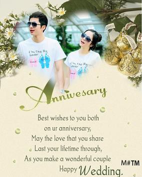 Anniversary Wedding Frames screenshot 3