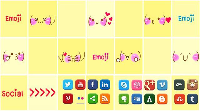 Emoji Sticker Share Social apk screenshot