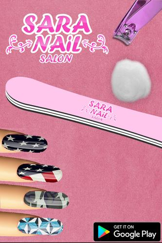 Sara nail salon manicure game apk sara nail salon for A nail salon game