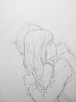 Drawing Anime Couple Ideas poster