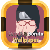 Sarada & Boruto Wallpaper icon