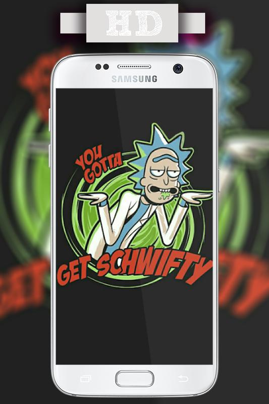 ... Rick Sanchez & Morty Smith Wallpapers Live HD screenshot 4 ...