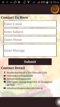 Sarah The Pancake Cafe apk screenshot