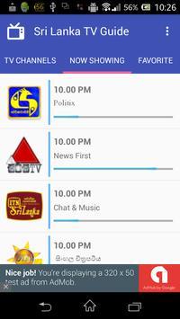Sri Lanka TV Guide screenshot 1