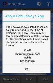 Sri Lanka Rahu Kalaya screenshot 3