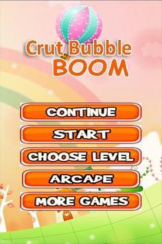Crut Bubble Boom poster