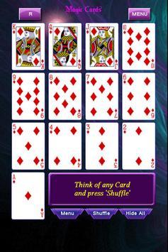 Playing Cards Magic Tricks apk screenshot