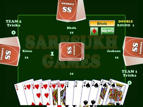 Card Game Coat : Court Piece apk screenshot