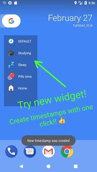 TimeStamper: Log Your Time apk screenshot
