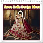 Saree india modern design icon