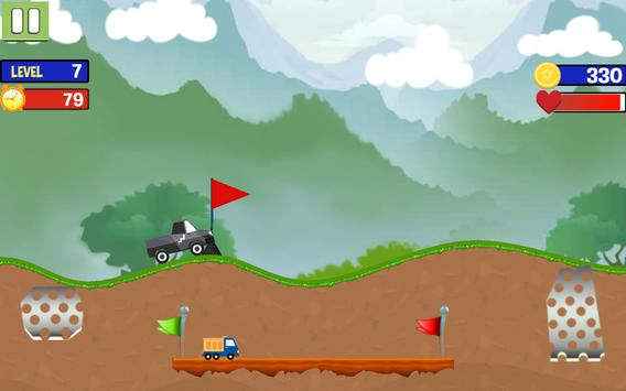 Hill Stunt Racing apk screenshot