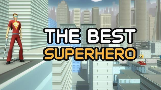 Best Superhero GTA poster