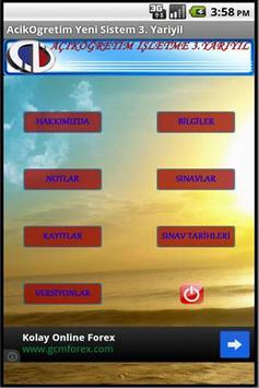 Açıköğretim Yeni Sistem 3 poster