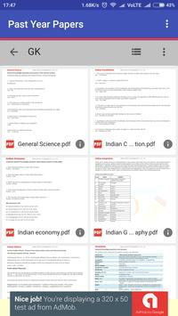 Jharkhand Police Previous year Papers apk screenshot