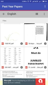 SSC MTS Previous Year Papers apk screenshot