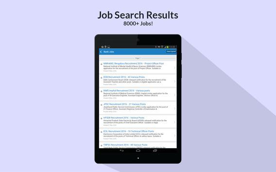 Sarkari Naukri - Govt job search & free jobs alert apk screenshot