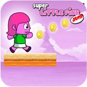 Super Little Pink Jump icon