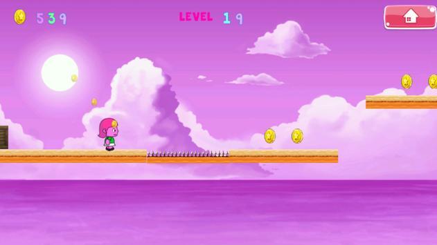Super Little Pink Jump screenshot 2