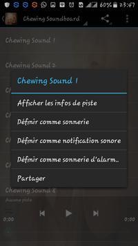 Chewing Sounds apk screenshot