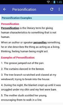 Literary Terms screenshot 5