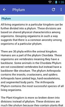 Learn Biology screenshot 2