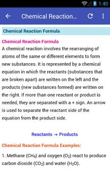 Learn Chemistry screenshot 2