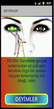 DEYİMLER ve ANLAMLARI poster