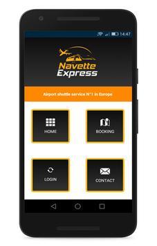 NavetteExpress : Airport shuttle service CAB screenshot 1