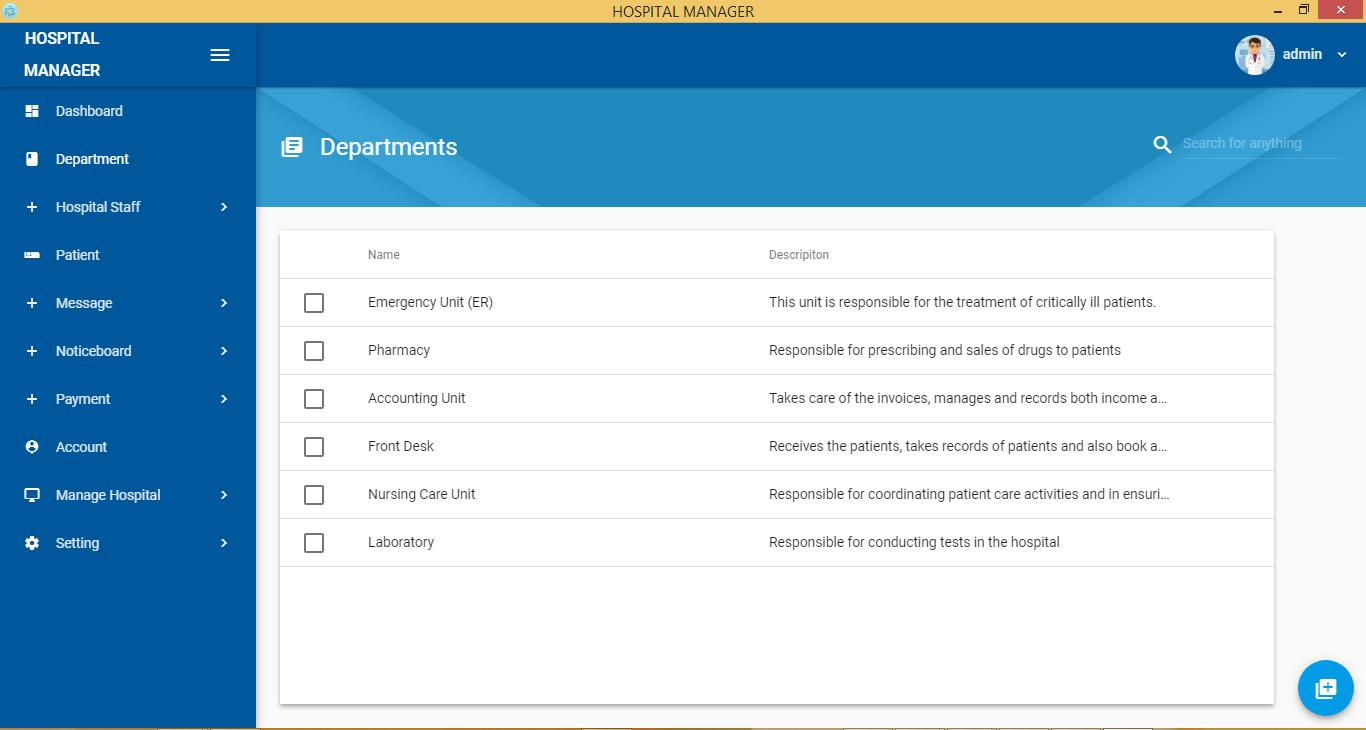 Hospital Management System for Android - APK Download