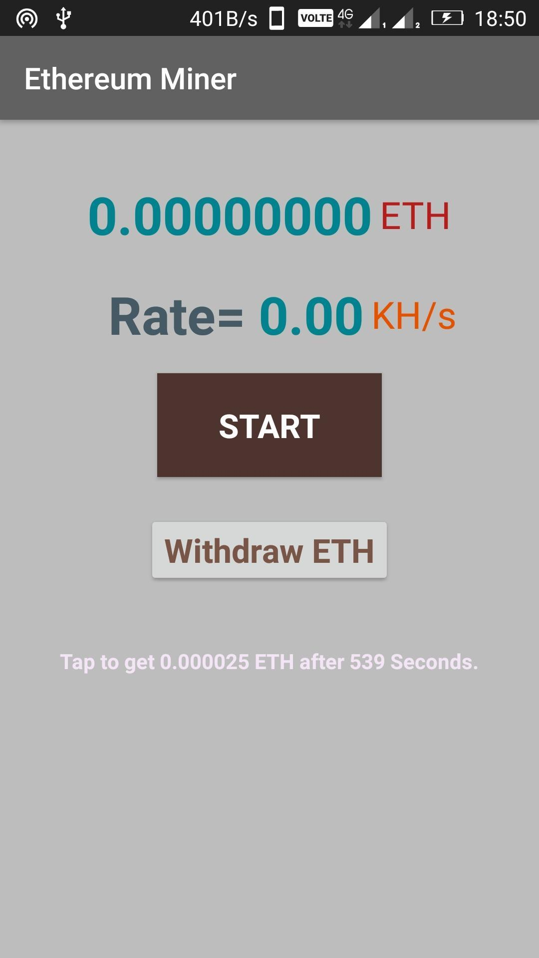Ethereum Miner for Android - APK Download