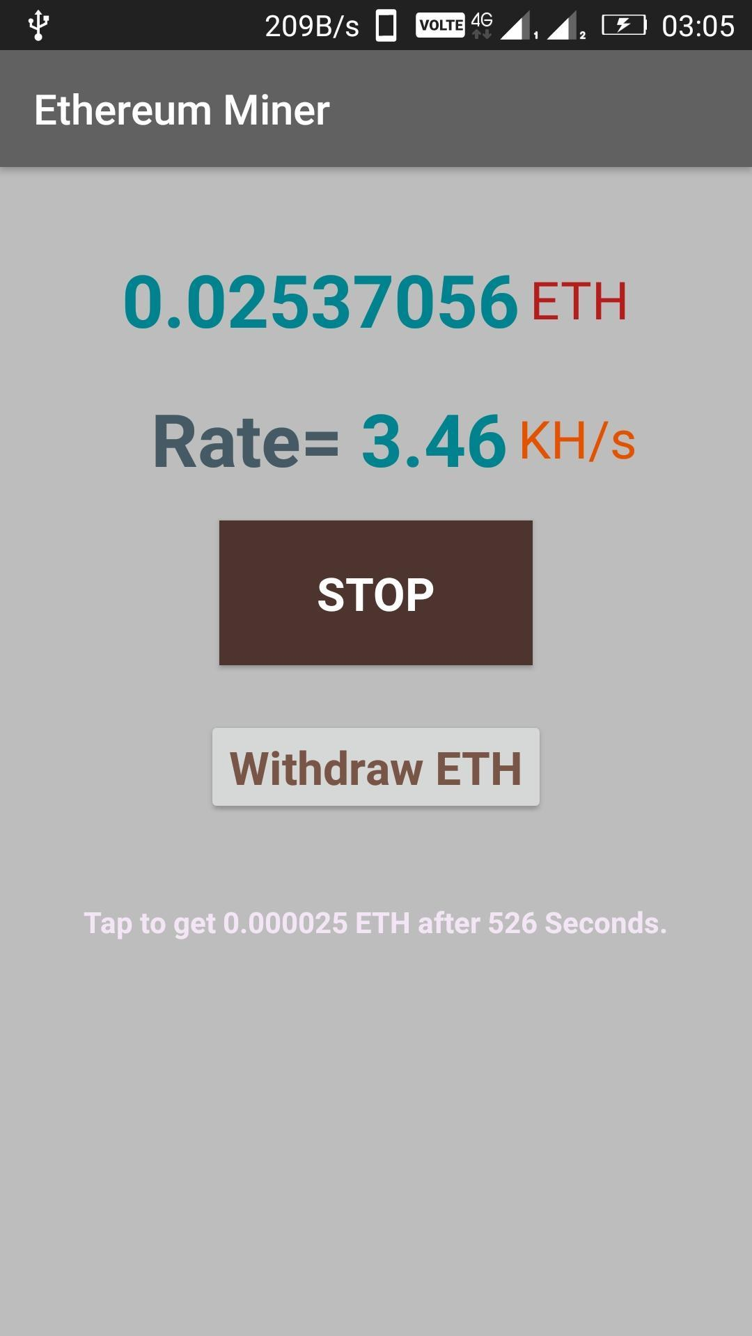 1 th s ethereum miner