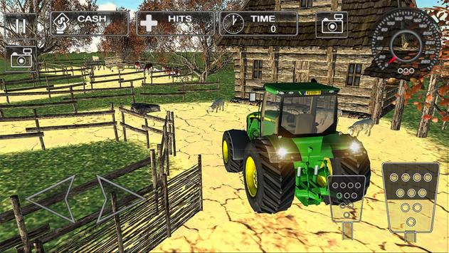 Farm Tractor Parking Simulator 3D:Ultimate Farming screenshot 4