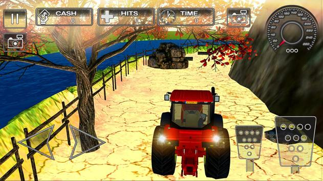 Farm Tractor Parking Simulator 3D:Ultimate Farming poster