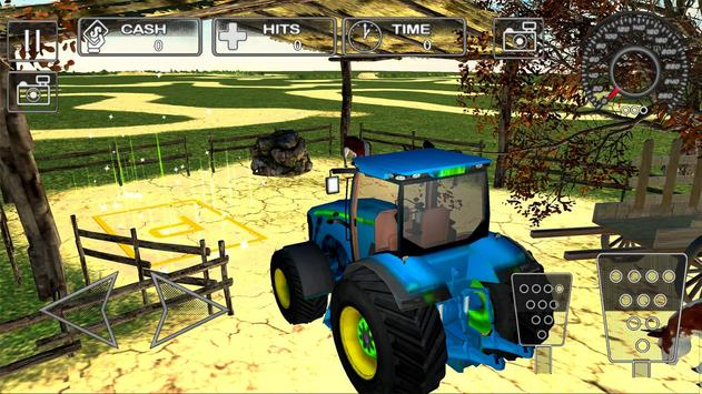 Farm Tractor Parking Simulator 3D:Ultimate Farming screenshot 1