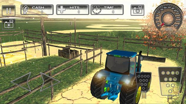 Farm Tractor Parking Simulator 3D:Ultimate Farming screenshot 2