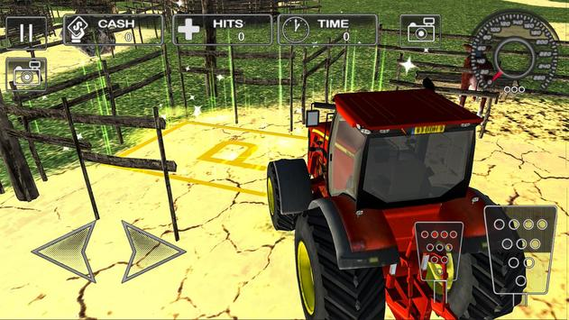 Farm Tractor Parking Simulator 3D:Ultimate Farming screenshot 3