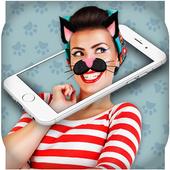 Cat Face Scanner Simulator icon